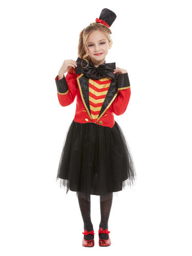 Circus Acts Kids Fancy Dress Greatest Showman Ringmaster Boys Girls Costumes