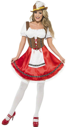 Bavarian-Man-or-Wench-Oktoberfest-Fancy-Dress-Lederhosen-  sc 1 st  eBay & Bavarian Man or Wench Oktoberfest Fancy Dress Lederhosen German Beer ...
