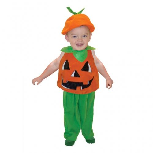 Halloween-Pumpkin-Child-Ages-1-3-Years-Fancy-  sc 1 st  eBay & Halloween Pumpkin Child Ages 1-3 Years Fancy Dress Toddler Costume ...