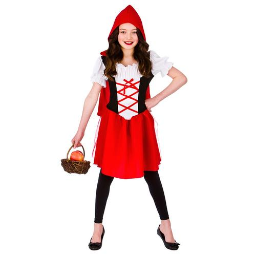 Childs Girls Red Riding Hood Fancy Dress Costume Book Day Outfit by Rubies