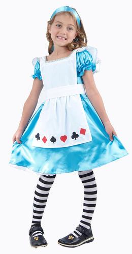 Alice-in-Wonderland-Girls-Fancy-Dress-Storybook-Fairytale-Kids-Childrens-Costume thumbnail 18