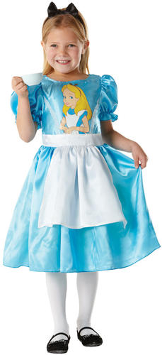 Alice-in-Wonderland-Girls-Fancy-Dress-Storybook-Fairytale-Kids-Childrens-Costume thumbnail 3