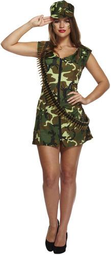 Sexy Female Military Uniform