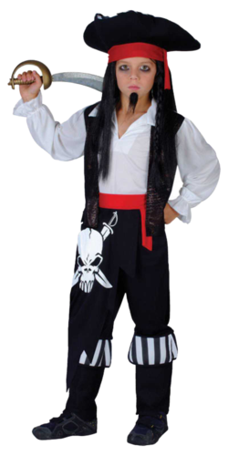 pirate kids costume hat book week boys girls