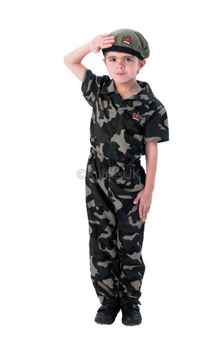 army soldier boys fancy dress military commando uniform kids