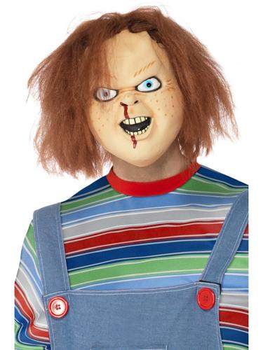 chucky horror movie adult fancy dress halloween party mens womens costume outfit ebay. Black Bedroom Furniture Sets. Home Design Ideas