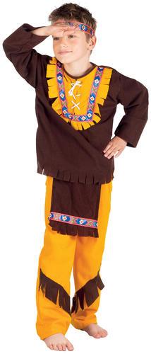 Western-Indian-Chief-Boys-Fancy-Dress-Wild-West-  sc 1 st  eBay & Western Indian Chief Boys Fancy Dress Wild West Cowboys u0026 Indians ...