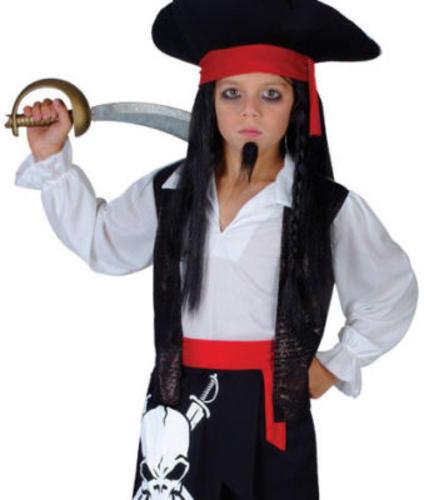 Pirate-Captain-Blackheart-Boys-Fancy-Dress-Kids-Child-  sc 1 st  eBay & Pirate Captain Blackheart Boys Fancy Dress Kids Child Dressing Up ...