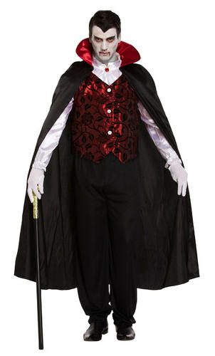 dracula vampire fangs mens fancy dress halloween spooky. Black Bedroom Furniture Sets. Home Design Ideas