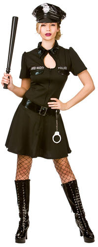 Sexy-Police-Woman-Lady-Officer-Ladies-Fancy-Dress-Cops-Uniform-Adults-Costumes thumbnail 8