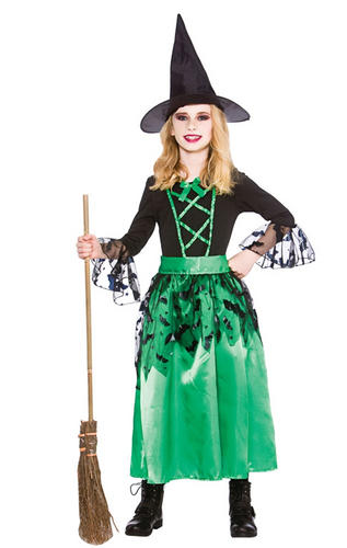 Wicked Witches Girls Fancy Dress Halloween Book Witch Kids ...