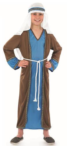 Shepherd-Boys-Fancy-Dress-Nativity-Play-Joseph-Christmas-  sc 1 st  eBay & Shepherd Boys Fancy Dress Nativity Play Joseph Christmas Childs Kids ...