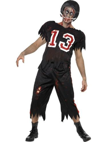 Zombie-Footballer-Mens-Fancy-Dress-Halloween-High-School-Adults-Costume-Outfit