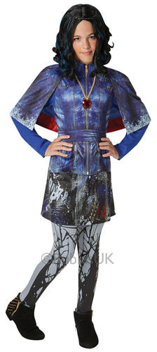 Disney Descendants Girls Fancy Dress Halloween Kids Movie ...