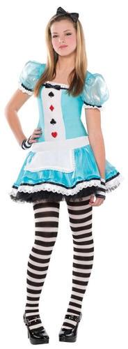 Alice-in-Wonderland-Girls-Fancy-Dress-World-Book-Day-Kids-Teen-Fairytale-Costume