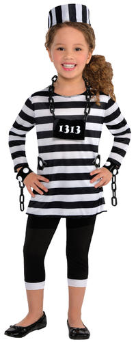 Prisoner costume for kids