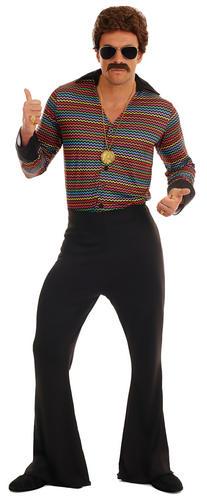 Disco Fever Adults Fancy Dress 1970s 70s Groovy Funky Retro