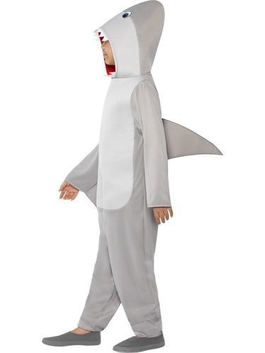 Shark Adults Fancy Dress Sea Animal Creature Jaws Halloween Mens Ladies Costume