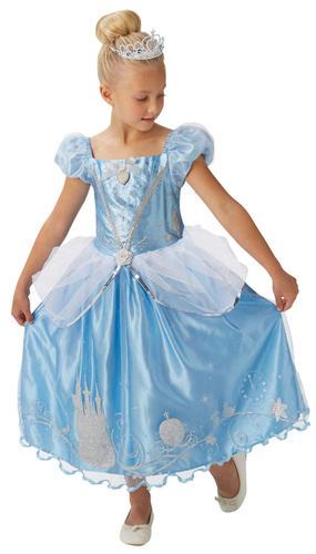 Kids Disney Princess Cinderella Costume Toddler Book Week Day Girls Fancy Dress