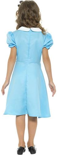 Alice-in-Wonderland-Girls-Fancy-Dress-Storybook-Fairytale-Kids-Childrens-Costume thumbnail 6