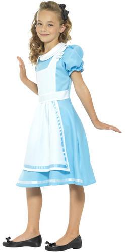 Alice-in-Wonderland-Girls-Fancy-Dress-Storybook-Fairytale-Kids-Childrens-Costume thumbnail 5