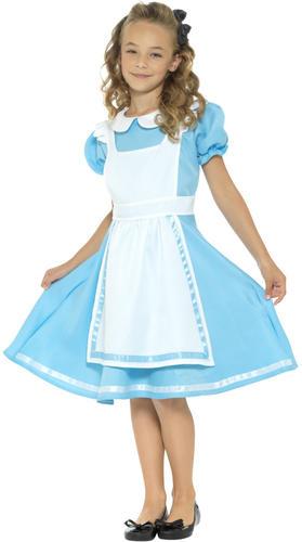 Alice-in-Wonderland-Girls-Fancy-Dress-Storybook-Fairytale-Kids-Childrens-Costume thumbnail 7