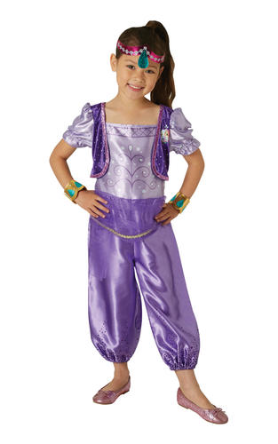 on feet images of best sell wholesale Details about Shimmer & Shine Girls Fancy Dress Cartoon Genie Characters  Childrens Kid Costume
