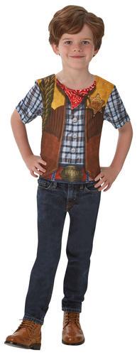 Roleplay-T-Shirt-Kids-Fancy-Dress-Book-Day-Week-Boys-Girls-Childrens-Costume-Top