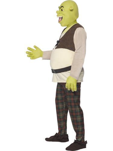 Shrek-Ogre-Mens-Fancy-Dress-Fairytale-Halloween-Adults-  sc 1 st  eBay & Shrek Ogre Mens Fancy Dress Fairytale Halloween Adults Costume ...