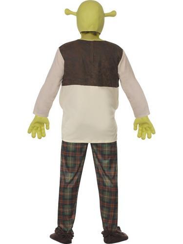 Shrek Ogre Mens Fancy Dress Fairytale Halloween Adults Costume