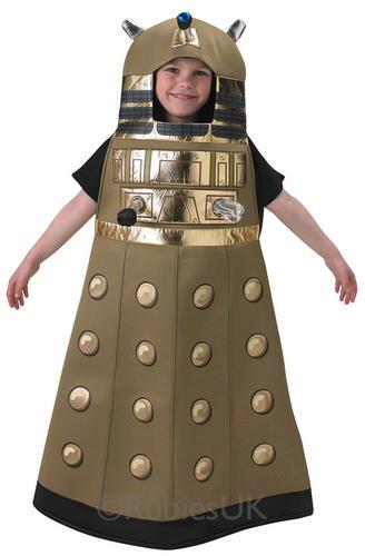 Dalek-Kids-Fancy-Dress-Doctor-Who-Sci-Fi-  sc 1 st  eBay & Dalek Kids Fancy Dress Doctor Who Sci Fi TV Robot Villain Girl Boy ...