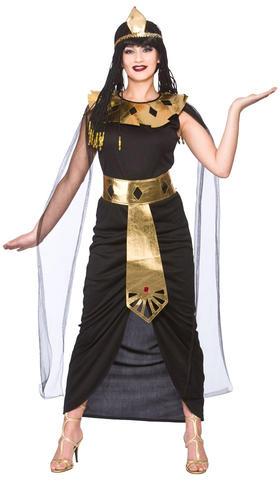 Cleopatra-Egyptian-Ladies-Fancy-Dress-Halloween-Egypt-Womens-Adult-Costume-6-24 thumbnail 10