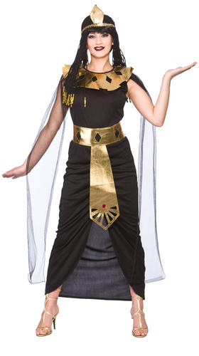 Cleopatra-Egyptian-Ladies-Fancy-Dress-Halloween-Egypt-Womens-Adult-Costume-6-24 thumbnail 12