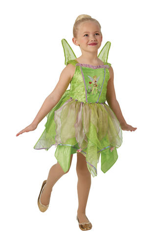 Rubies Officially Licenced Disney Classic Tinkerbell Costume World Book Day