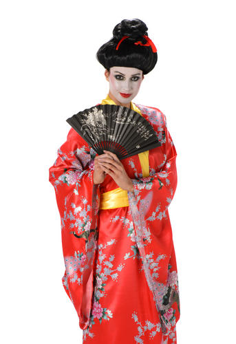 Vestido mujer japonesa