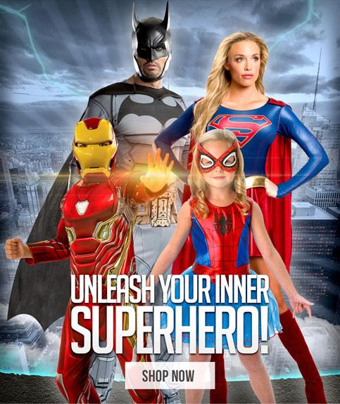 Unleash your inner superhero