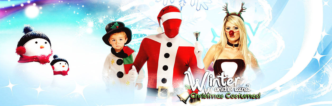 Ladies Christmas Costumes and Accessories