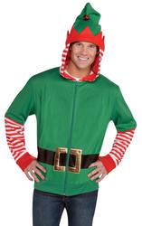 Elf Hoodie Mens Costume Accessory