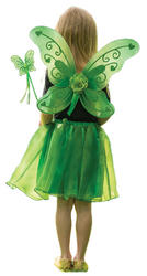 Green Sparkle Fairy Costume Set