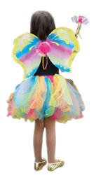Rainbow Fairy Costume Set