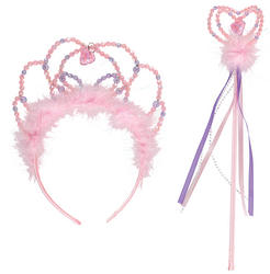 Tiara & Wand Fairy Costume Set