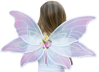 Pink Sorbet Fairy Costume Wings