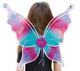 Aquamarine Jewel Fairy Costume Wings