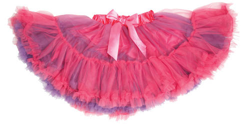 Cerise/Violet Frothy Tutu Girls Costume Accessory