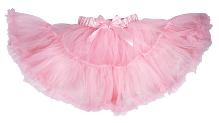 Pink Frothy Tutu Girls Costume Accessory