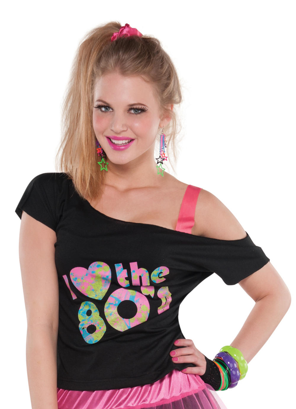 I Love the 80s Ladies Costume T-Shirt
