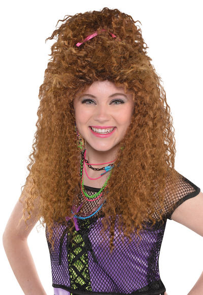 Totally 80s Crimp Adults Wig