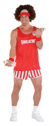 80s Exercise Maniac Mens Costume