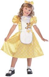 Polka Dot Goldilocks Girls Costume
