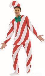 Candy Cane Man Mens Costume